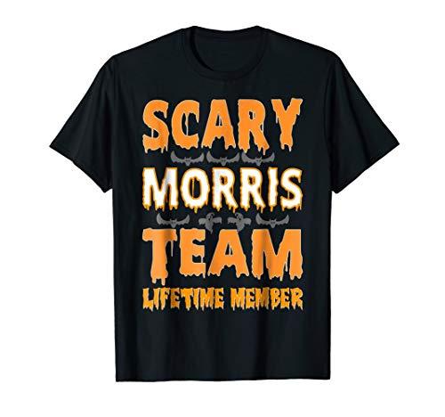 Scary Morris Team Lifetime Member Halloween