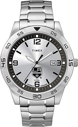 (Timex Men's Los Angeles LA Kings Watch Citation Steel Watch )