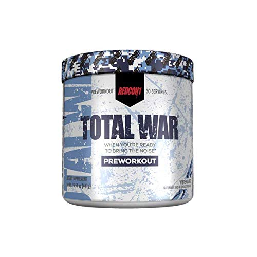 Redcon1 - Total War - Pre Workout (30 Servings) Limited Edition - White Walker by REDCON1