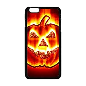 Fantastic Halloween Pumpkin In Fire Cool Style Hard Plastic Case Cover for ipod touch4 ''