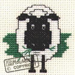 Highland Cow Stitchlets Collection Mouseloft Mini Cross Stitch Kit