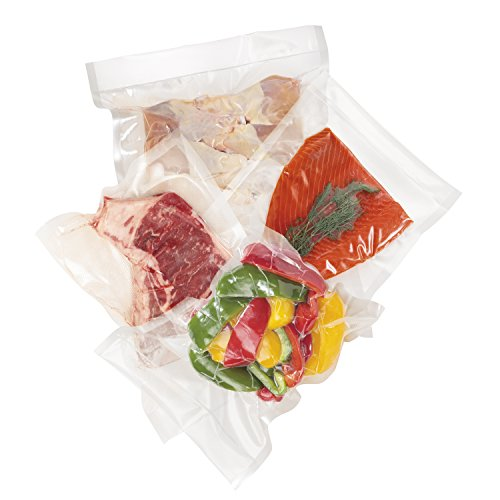 Hamilton Beach Vacuum Sealer, (30-Pack) Quart-Size Bags for NutriFresh, FoodSaver & Other Heat-Seal Systems (78302)