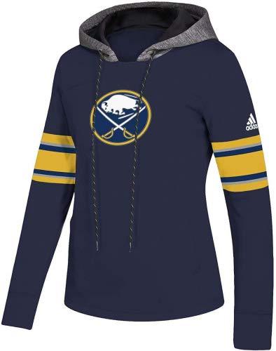 adidas Buffalo Sabres NHL Women's Crewdie Pullover Hoodie M ()