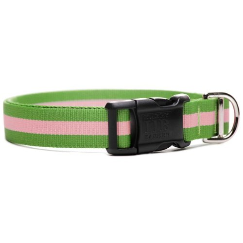 Harry Barker Eton Collar - Pink & Green - Large - 12-20 inch