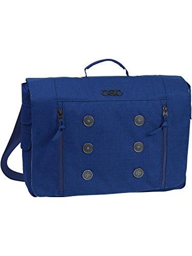 OGIO Midtown Messenger Messenger Bag Cobalt/Cobalt/Academy One (Fully Lined Messenger Bag)