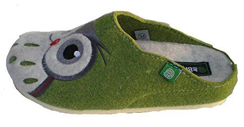 Dr.brinkmann Kvinners Tekstil Tøfler Grønne