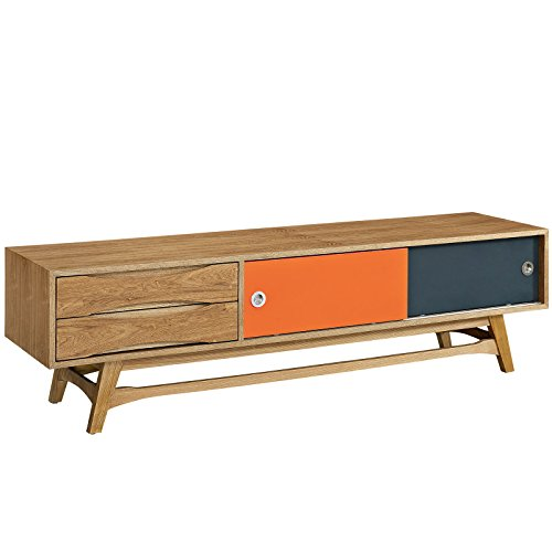 Modway Concourse Flat Screen TV Stand Credenza – Sideboard – Buffet Server In Natural 4181Z8DaKQL