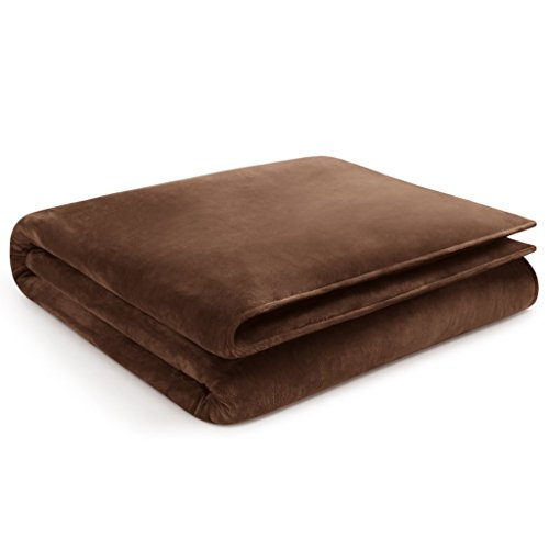 "Restorology Weighted Blanket - Ultra Plush Gravity Blanket - Multiple sizes for Children & Adults. Great for Anxiety, ADHD, Autism, OCD, and Sensory Processing Disorder - 12LB - 60"" x 80""- Chocolate"