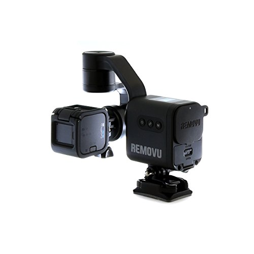 REMOVU S1 3-Axis Gimbal with Wireless Remote Control for GoPro HERO7, HERO6, HERO5 Black, HERO5 Session, Session, HERO4, HERO3+ and 3