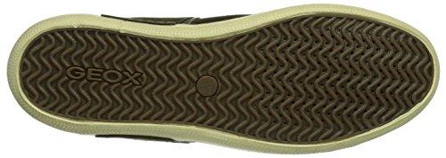 Geox U Box, Sneaker a Collo Basso Uomo Verde (Military/Olive C3074)