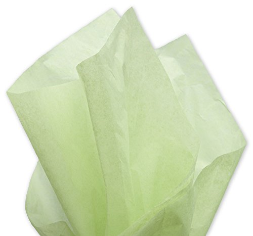 Solid Tissue Paper - Solid Tissue Paper, Willow, 20 x 30