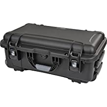 Rokinon Xeen Heavy Duty Foam Carry-on 6 Lens Hard Lens Case with Rolling Wheels