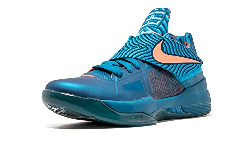 Nike Zoom KD 4 Green Abyss/Brght Mng-crrnt Bl iDEeA