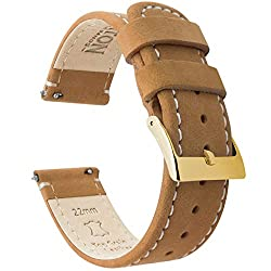 Image of the product 22mm Gingerbread/Linen that is listed on the catalogue brand of Barton Watch Bands.