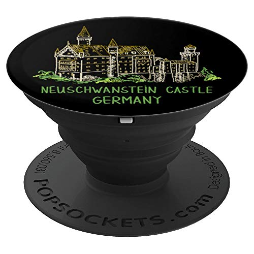 Germanys Neuschwanstein Castle - Neuschwanstein Castle Germany - PopSockets Grip and Stand for Phones and Tablets