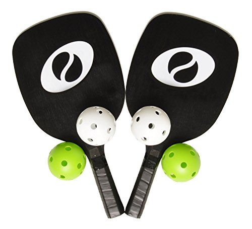 Optima Starter Pickleball Set 2 Paddles 4 Pickleballs