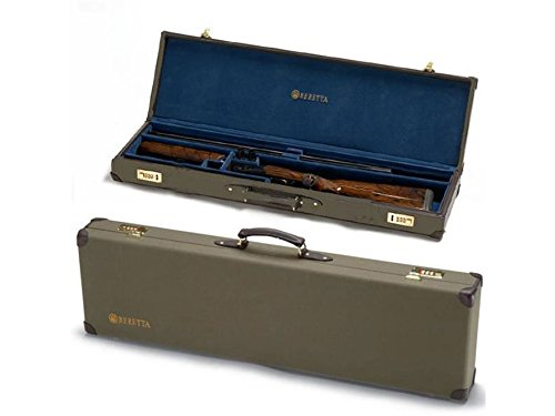 "Beretta Hard Canvas Breakdown Shotgun Case 32"" 2 Barrel Set Canvas Brown"