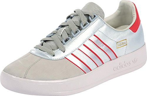 Scarpe Adidas Trimm Trab Argento casuals uk 10 1/2