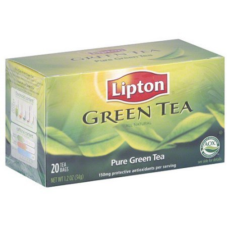 PACK OF 3 - Lipton Pure Green Tea, 20ct (Pack of 6)
