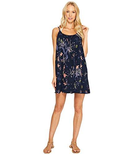 (ロキシー)Roxy レディース水着スウィムスーツ Windy Fly Away Print Dress Cover-Up Dress Blues Swim Lee Lee SM n/a [並行輸入品] B074CSMR2J