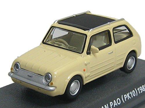 コナミ 1/64  Car of the 80's EDITION RED  日産 パオ  型式PK10 1989 レグホーン B010US4G3I