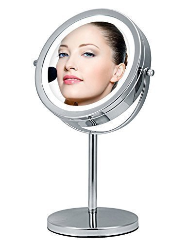 Single or Double Sided Mirror of Best Lighted Makeup Mirror