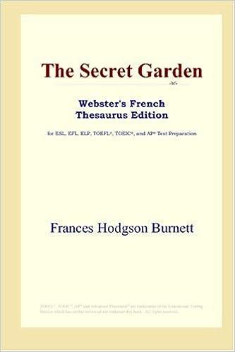 Livres gratuits The Secret Garden (Webster's French Thesaurus Edition) epub, pdf