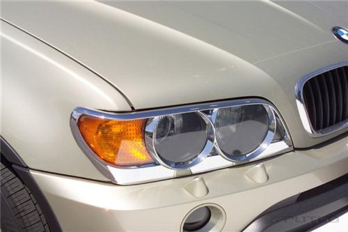 Putco 403203 Chrome Trim Head Lamp Overlay and Ring ()