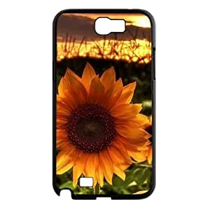 Sunflower DIY Cover Case for Samsung Galaxy Note 2 N7100 LMc-12011 at LaiMc