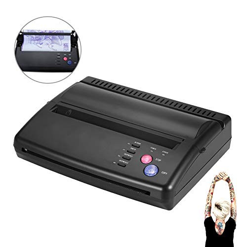 Tattoo Transfer Stencil Machine Professional A5 A4 Tattoo Copier Thermal Stencil Paper Printer Kit(US Plug)