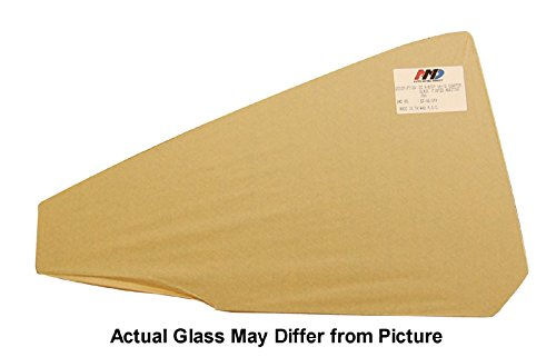 68-72 GM A-Body Convertible Quarter Glass - LH (Clear)