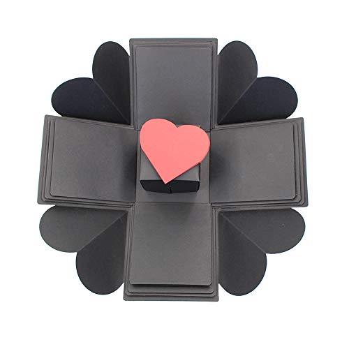 - Creative Explosion Gift Box, Love Memory DIY Photo Album Box Birthday and Anniversary Valentine Wedding Gift