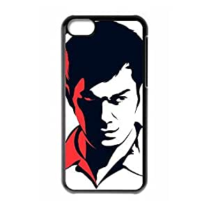 Dexter Blood_004 TPU Case Cover for iphone 5c Cell Phone Case Black