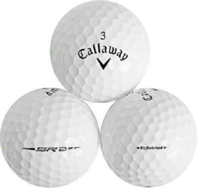 Callaway 5 Dozen SR2 Mint AAAAA Quality Factory Refinished Golf Balls No Pen marks or Logos