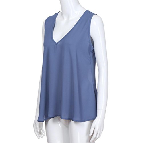 Amazon.com : HOSOME Women Top Plus Size Womens V Neck Tank Tops Cami Sleeveless T-Shirt Vest Blouse : Grocery & Gourmet Food