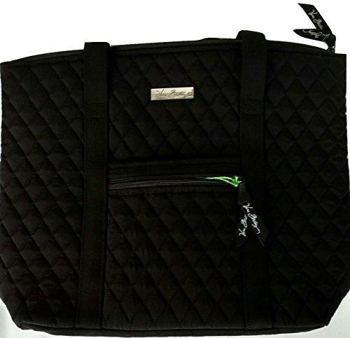 Vera Bradley Villager Handbag Shoulder Bag Tote in Classic Black