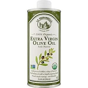 La Tourangelle 40-05-EVO-A712-CS Organic Extra Virgin Olive Oil, 25.4 Fl Oz