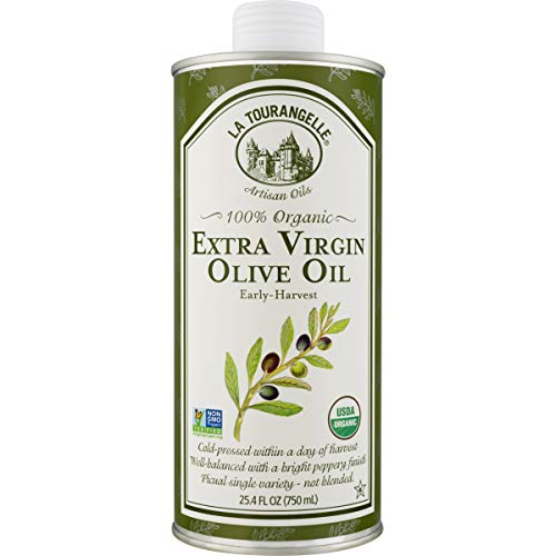 La Tourangelle, Organic Extra Virgin Olive Oil, 25.4 Fl. Oz. (Best Organic Olive Oil For Cooking)