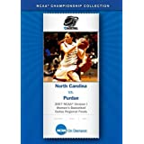 2007 NCAA(r) Division I Women's Basketball Dallas Regional Finals - North Carolina vs. Purdue
