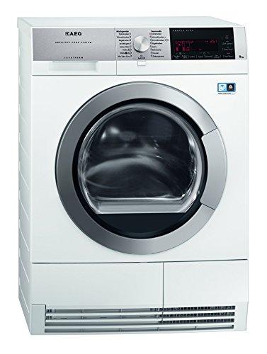 AEG T97685IH3 Wärmepumpentrockner / A+++ / 8 kg / Wolle und Seide Trockenprogramm / weiß
