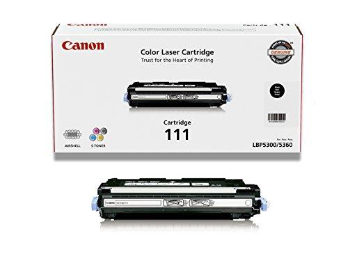 Canon Original 111 Toner Cartridge - Black (111 Black Toner Cartridge)