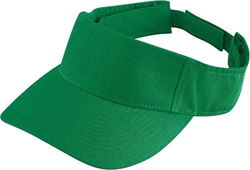 - Augusta Sportswear Kids' Sport Twill Visor OS Kelly