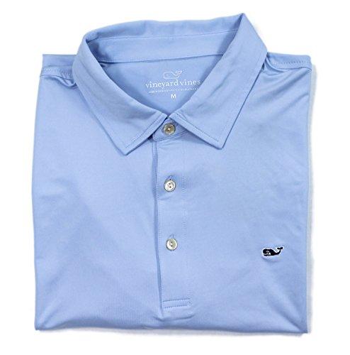 Vineyard Vines Mens Performance Golf Polo Solid Dutch Blue Shirt