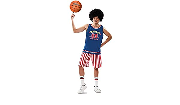 Disfraz de Jugador Básquet Americano para hombre: Amazon.es ...
