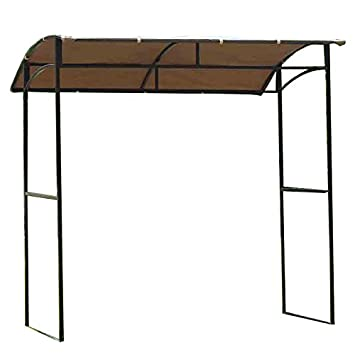 Garden Winds Curved Grill Shelter Gazebo Replacement Canopy - Riplock 350  sc 1 st  Amazon.com & Amazon.com : Garden Winds Curved Grill Shelter Gazebo Replacement ...