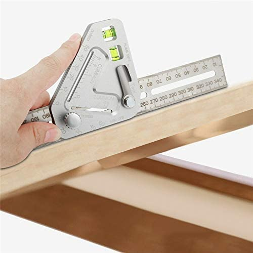Multi-Function Angle Ruler A revolutionary Carpentry Tool Better Measuring Tool.