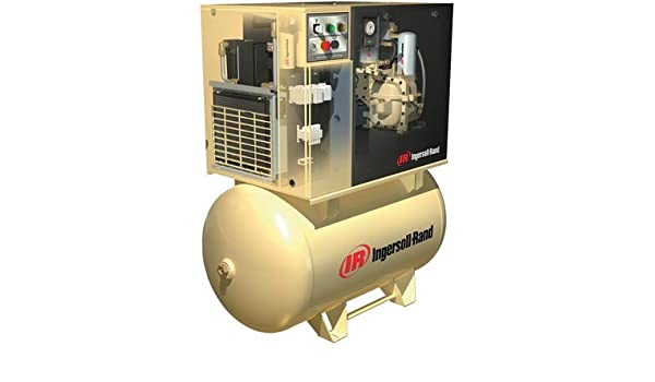 Amazon.com: - Ingersoll Rand Rotary Screw Compressor w/Total Air System - 230 Volts, 1-Phase, 7.5 HP, 28 CFM, Model# UP6-7.5TAS-125: Home Improvement