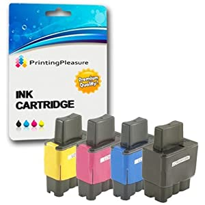4 Cartuchos de Tinta compatibles para Brother DCP-110C 7