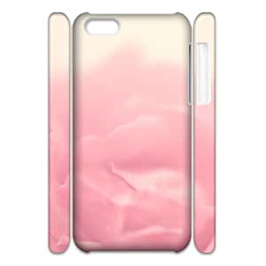 Iphone 5C Case, the rose 3D Case for Iphone 5C White