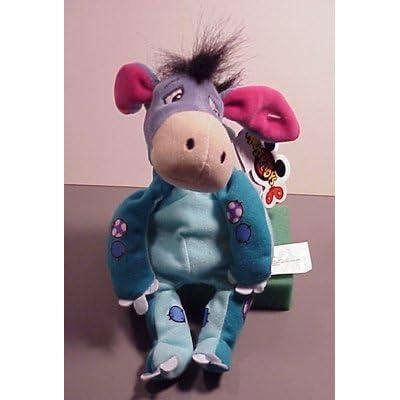 Disney Bean Bag Plush Eeyore as Dinosaur: Toys & Games